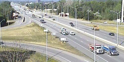 417 highway traffic -  live webcam , Ontario Ottawa