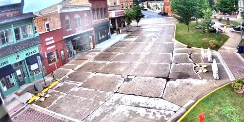 City of Northfield - 4th Street and Bridge Square -  live webcam , Minnesota Minneapolis