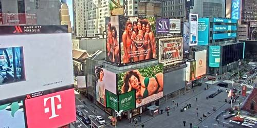 Times Square - Video Advertising -  live webcam , New York New York