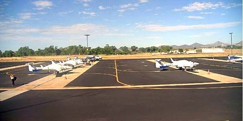 Airfield for small aircraft -  live webcam , New York New York