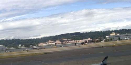 Seattle Boeing Field / King County Airport -  live webcam , Washington Seattle