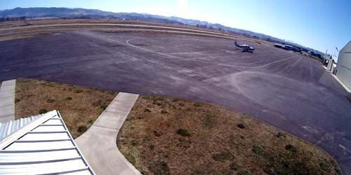 Public airport in Ravalli -  live webcam , Montana Missoula