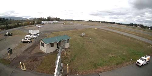 Fairchild International Airport -  live webcam , Washington Port Angeles