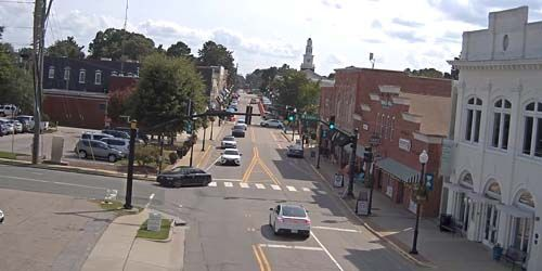 Tráfico en el suburbio Apex -  Webcam , North Carolina Raleigh