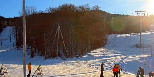 Main Base Area Bolton Valley -  live webcam , Vermont Burlington
