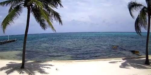 Ambergris Cay Beach -  live webcam , Belize District San Pedro