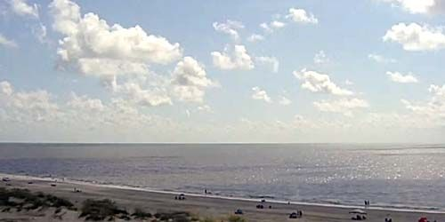 Gran playa de arena -  Webcam , Florida Jacksonville