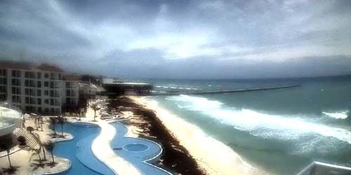 Coast with beaches -  live webcam , Quintana Roo Playa del Carmen