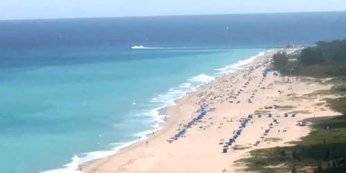 Panorama de las playas de la costa atlántica -  Webcam , Florida West Palm Beach