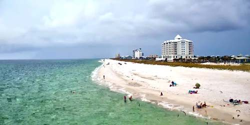 Beaches on the island of Santa Rosa -  live webcam , Florida Pensacola
