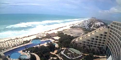 Sandy beaches on the Yucatan Peninsula -  live webcam , Quintana Roo Cancun