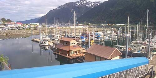 Douglas Boat Harbour -  Webcam , Alaska Juneau