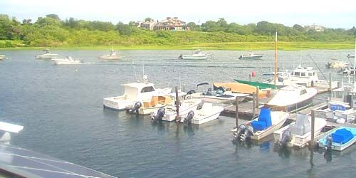 Muelle con barcos -  Webcam , Massachusetts Chatham