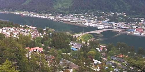 Douglas Bridge -  live webcam , Alaska Juneau