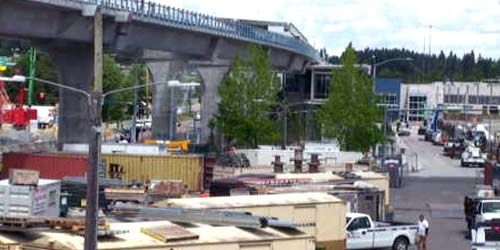 Bridge in the Georgetown area -  live webcam , Washington Seattle
