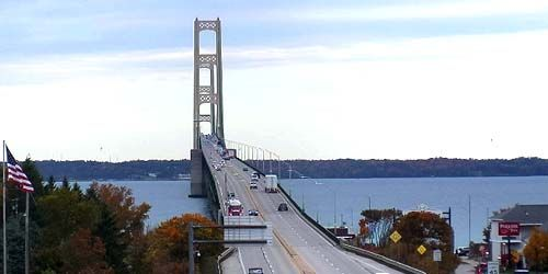 Pont Mackinac -  Webсam , Le Michigan Mackinaw City