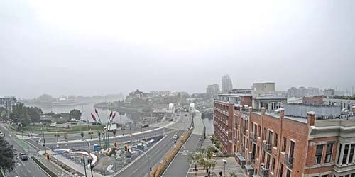 Johnson Street Bridge -  live webcam , British Columbia Victoria
