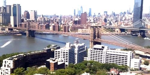 puente de Brooklyn -  Webcam , Nueva York New York
