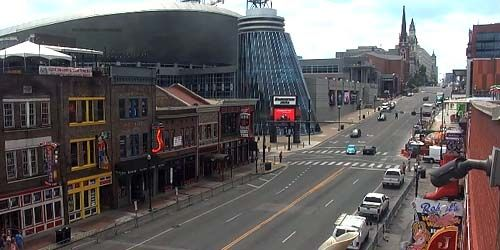 Broadway Street, Bridgestone Arena -  Webcam , Tennessee Nashville