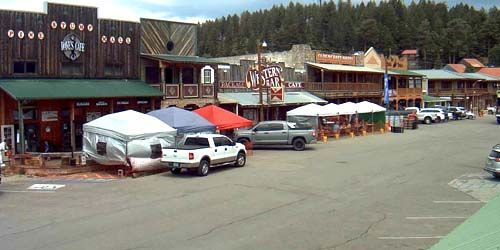 Old Burro Avenue -  live webcam , New Mexico Cloudcroft