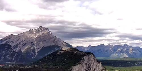 Cascade Mountain, Banff National Park -  live webcam , Alberta Calgary