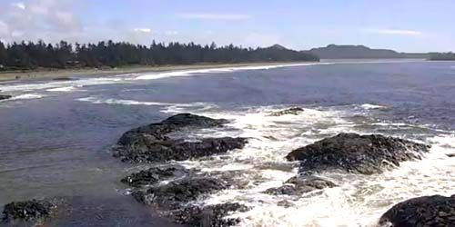 Chesterman Beach -  live webcam , British Columbia Tofino