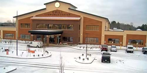 Town of Chili - Community Center Construction -  live webcam , New York Rochester