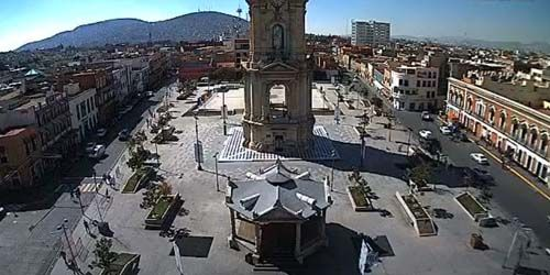 Monumental Clock -  live webcam , Hidalgo Pachuca