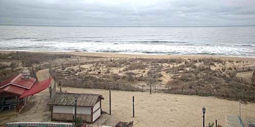 Coast with sandy beaches -  live webcam , Maryland Ocean City