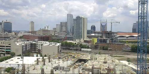 Skyscraper construction -  live webcam , Tennessee Nashville