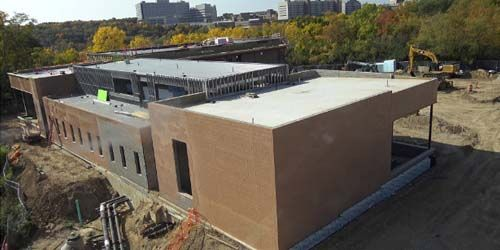 Construction of a dance school -  live webcam , Michigan Ann Arbor
