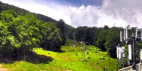 Mad River Glen Cooperative Ski Resort -  live webcam , Vermont Montpelier