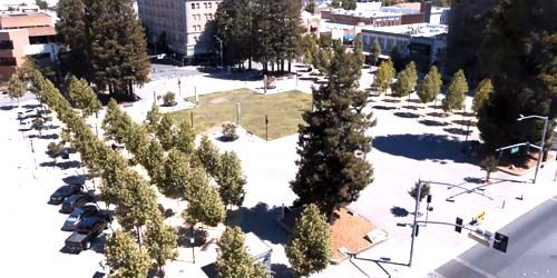 Courthouse Square -  live webcam , California Santa Rosa