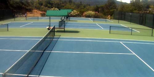 Tennis courts -  live webcam , California San Francisco