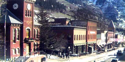 San Miguel Combined Courts -  live webcam , Colorado Telluride