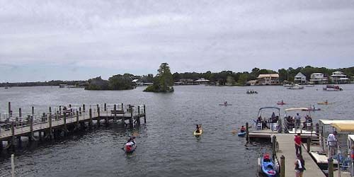 Atracaderos para embarcaciones de recreo en Crystal River -  Webcam , Florida Tampa