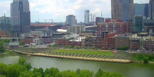 Cumberland River Embankment -  live webcam , Tennessee Nashville