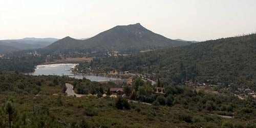 Pico Medio, Valle del Lago Cuyamaca -  Webcam , California San Diego