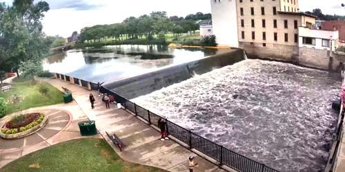 City of Northfield - Cannon River Dam -  live webcam , Minnesota Minneapolis