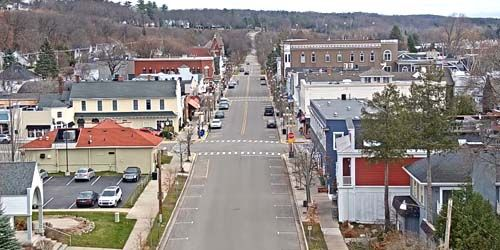 Downtown -  live webcam , Michigan Harbor Springs