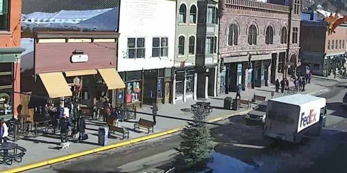 Downtown - restaurants and hotels -  live webcam , Colorado Telluride
