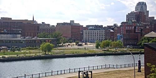 Providence River Embankment, Downtown -  live webcam , Rhode Island Providence