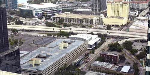 Downtown, Amalie Arena -  live webcam , Florida Tampa