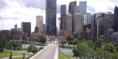 Downtown -  live webcam , Alberta Calgary