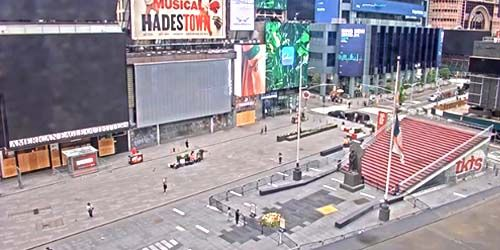 Duffy Square -  live webcam , New York New York