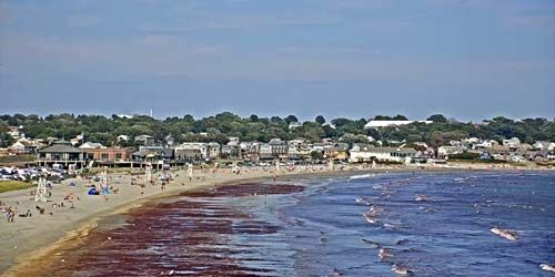 Easton Beach -  live webcam , Rhode Island Newport