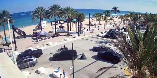 Elbo Room Beach -  live webcam , Florida Fort Lauderdale