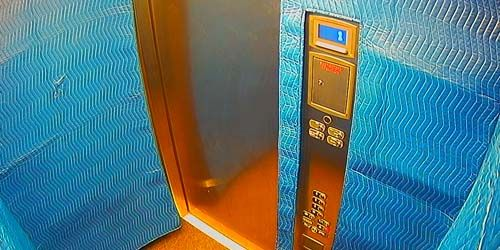 Elevator in an apartment building -  live webcam , Ontario Ottawa
