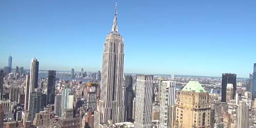 Empire State Building -  live webcam , New York New York