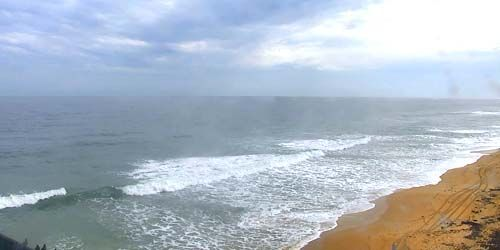 Flagler Beach en los suburbios de Palm Coast -  Webcam , Florida Jacksonville